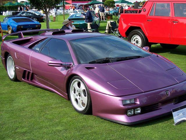 Mobil Sport Purple Lamborghini Diablo SE30