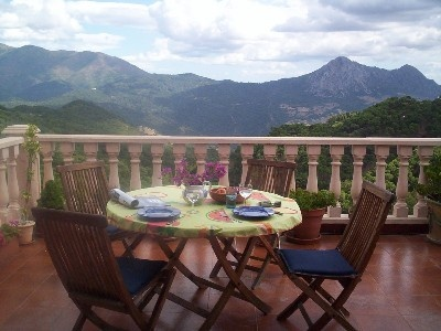 Beautiful views at FINCA LA LUZ, Gaucin, Spain
