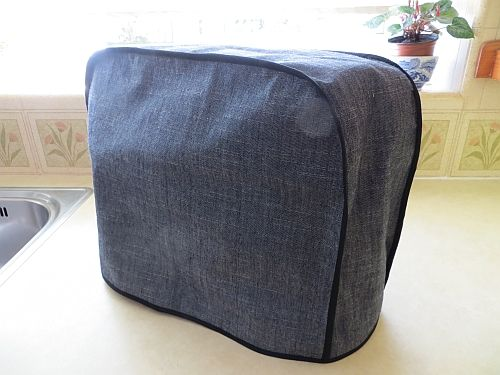 Kenwood chef Cover Midnight Slubbed Weave cotton