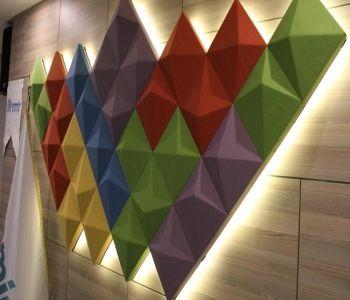 3D Akustik Duvar Panelleri #3dpanels #3dakustikpanel