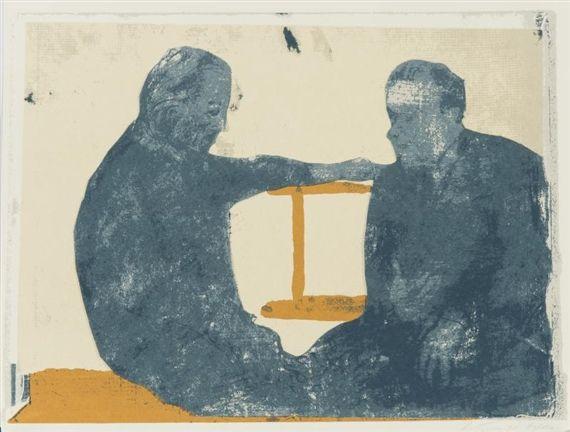 Luc Tuymans, The conversation