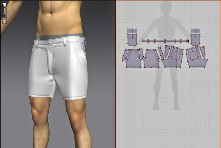 Sue`s Blog Spot: Basic block Clothing with Marvelous Designer.