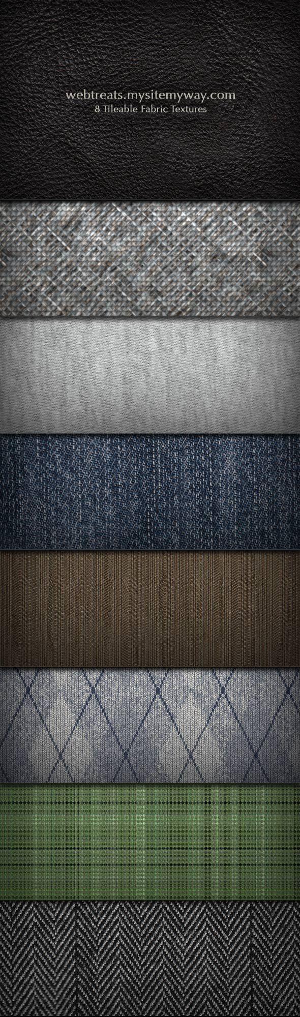 Fabric Texture and Pattern Set by WebTreatsETC.deviantart.com on @DeviantArt
