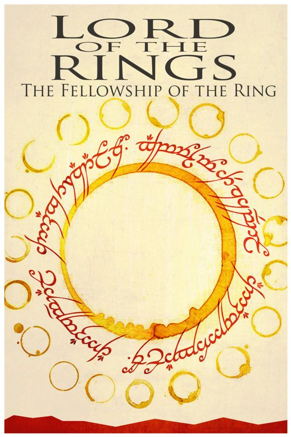 LoTR - Fellowship: Film, Rings Hobbit, Movie Posters, Fellowship, Art Poster, Movies, Middle Earth, Lord Of The Rings