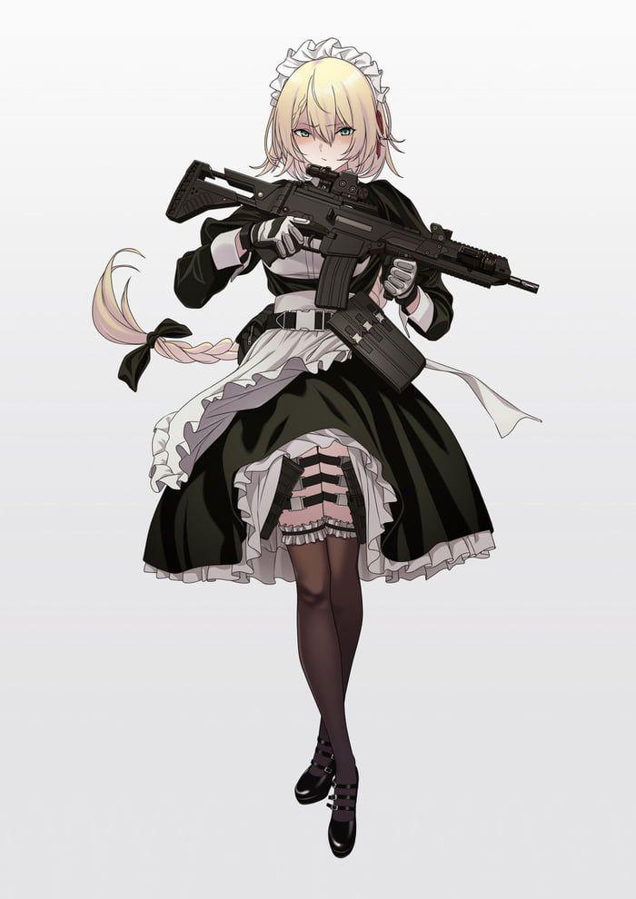 best maid mod 3 anime maid anime art girl anime military