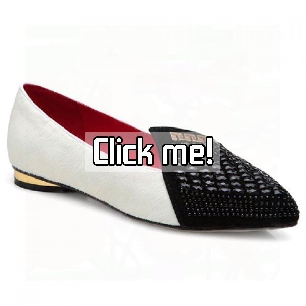 Stylish Rhinestones and Splicing Design Flat Shoes For Women    Price: $33.69.