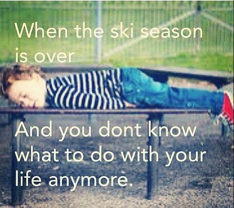 Ski racing problems.. hurry up ski season...