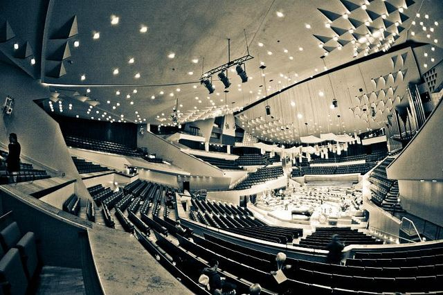 The Berlin Philharmonic Hall. Voted #2 in the world's top orchestras.
