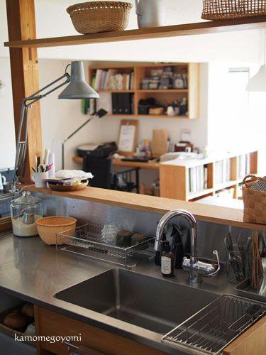 KAMOME GOYOMI キッチンのシンクまわり