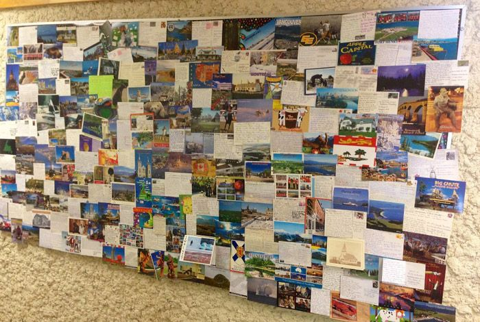 Manitoba class receives hundreds of postcards from across Canada - Canadian Geographic Blog