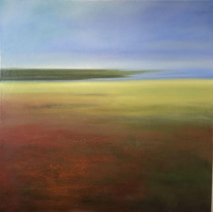 GATHERING STILLNESS | Lee Kleiman | Oil on canvas