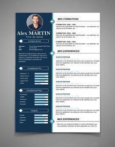 Nouveau modèle de curriculum vitae - CV 40 | Maxi CV