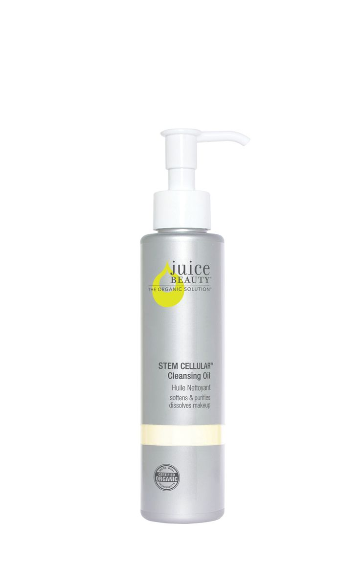 Juice Beauty Stem Cellular Cleansing Oil Purify, soften and balance skin's natural moisture levels with this deep cleansing oil formulated with grapeseed, may chang, ho wood and sunflower oils. A prop