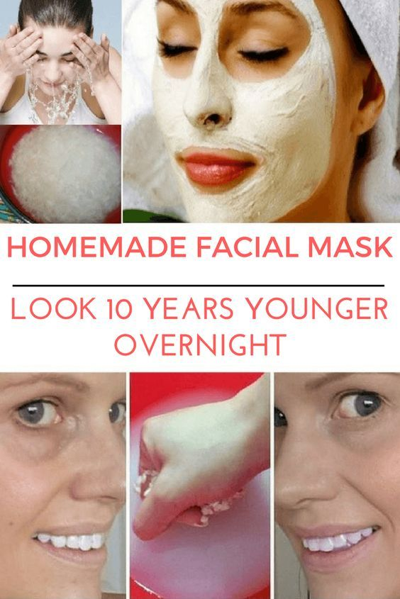 Homemade Natural Mask to look 10 Year Younger