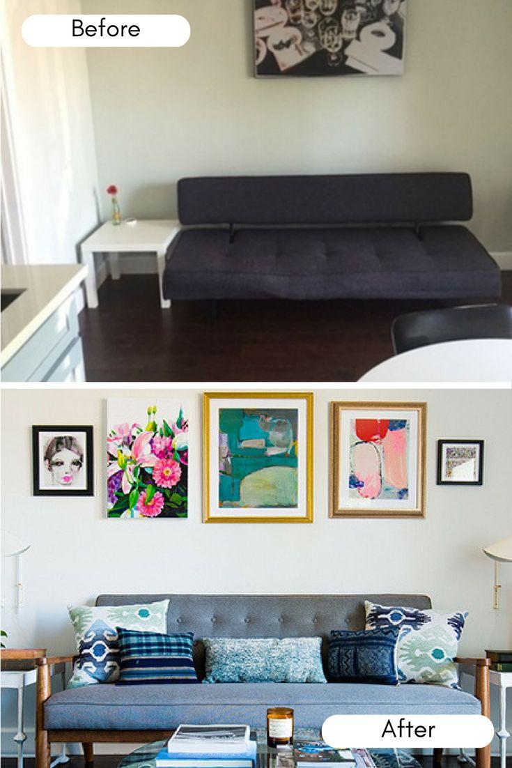 23 best Before After Interior Design Makeovers images on Pinterest