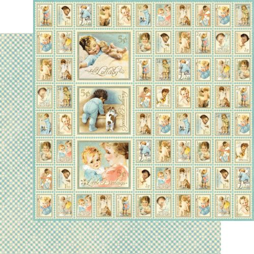 """""""New Arrival"""" from our collection Little Darlings! #newcollection #graphic45 #CHA"""