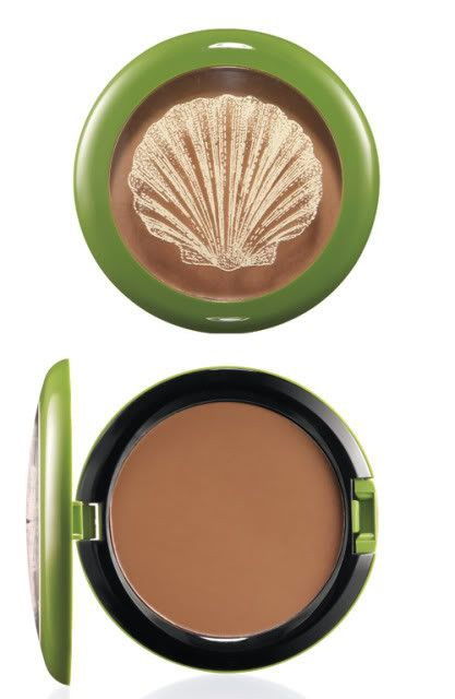 m a c mac cosmetics limited edition to the beach creme bronzer in beach bronze blush. Black Bedroom Furniture Sets. Home Design Ideas