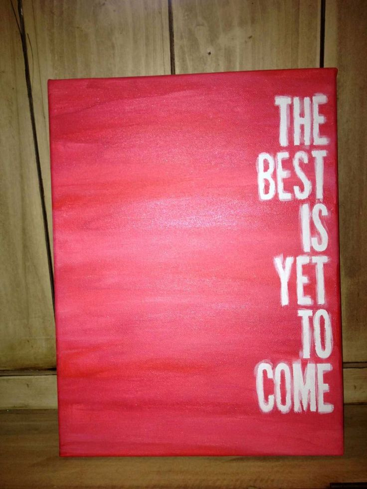 Canvas Painting Quotes About Home