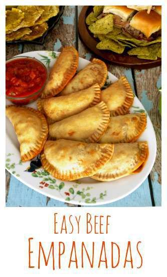 Beef Empanadas are easy to make and are a great addition to any tapas or party menu.