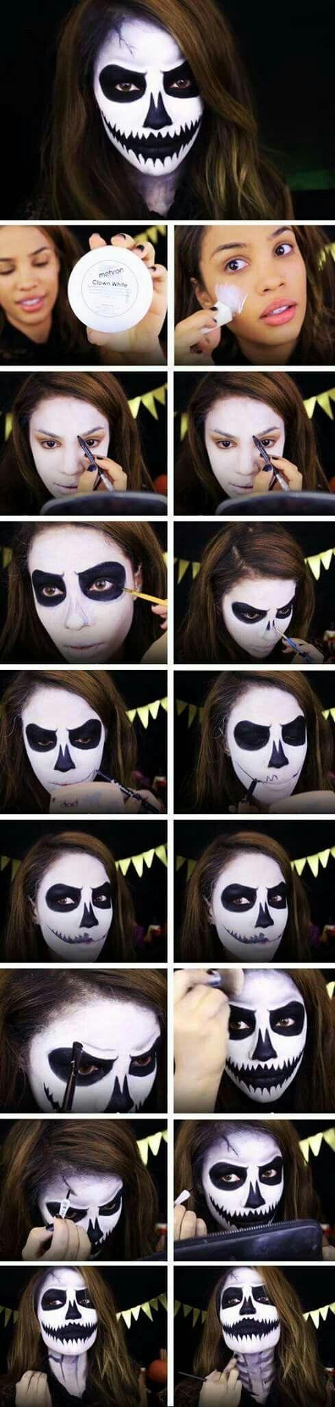 112 best maquillaje halloween images on Pinterest