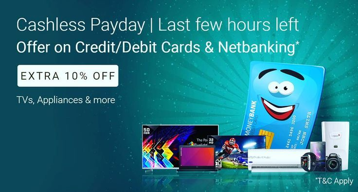 Cashless Payday on Flipkart .  Turn on Post Notifications to be updated . To get this click on Bio... . #techno #smartphone #appliances #laptop #tablet #accessories #sport #automation #apple #microsoft #google #iphone7 #offer #launch #kitchen #furniture #camera #smartwatch #smartband #automotive #beauty #life #music #movie #digital #socialmediamarketing #business #ecommercebusiness #eBooks #fashion