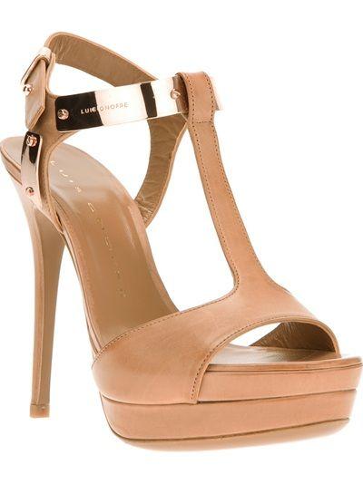 Luis Onofre T-Bar Strap Sandal