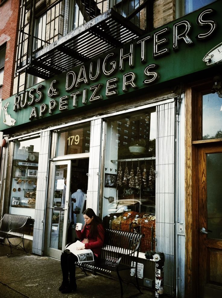 l u s h u s h  Russ and Daughters  Since 1914... smoked fish, caviar and specialty foods ....NY
