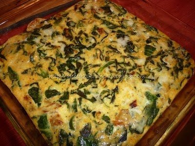 Such a tasty frittata. I just add extra cheese in the last 10 minutes ...