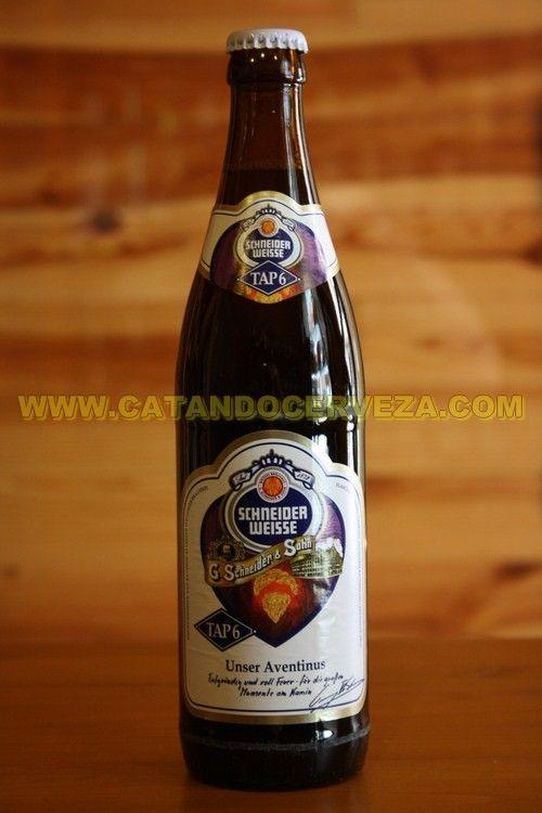 Cerveza Schneider Weisse Tap 6, Heffe Weissbier Dunkel. Cerveza alemana tostada de trigo fuerte #cerveza