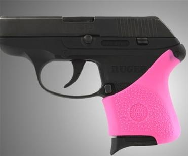 Hogue HandAll Hybrid Ruger LCP Grip Sleeve, Pink