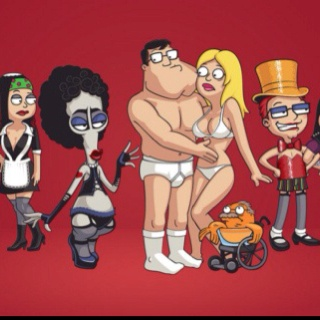 American Dad version of Rocky Horror ;)