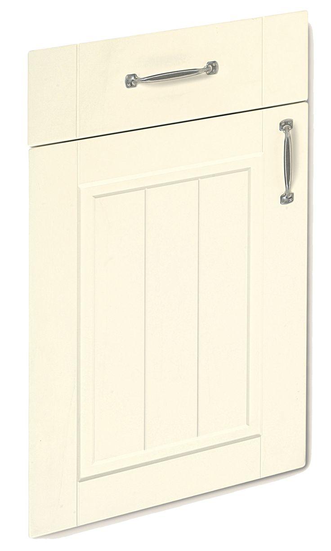 Boston Shaker Ivory replacement kitchen door