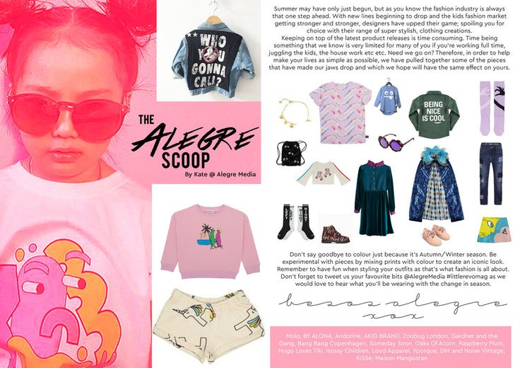Alegre Media's 'Alegre Scoop' fashion piece in the July/Aug issue of The Little Revolution Magazine! Read the issue here http://www.thelittlerevolution.co.uk/ #alegremedia