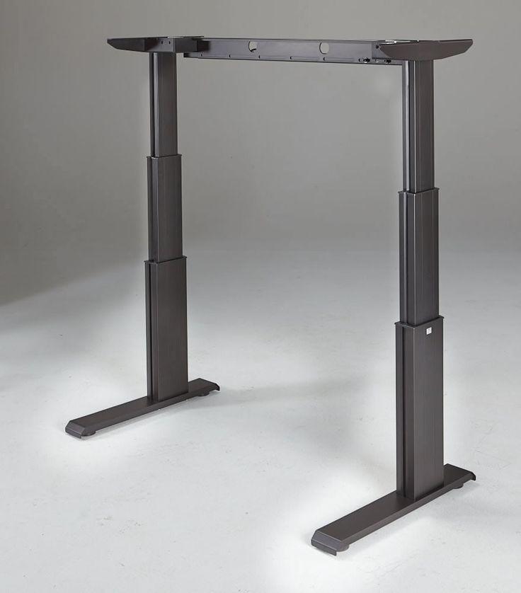 newheights elegante xt electric standing desk base office electric standing desk desk. Black Bedroom Furniture Sets. Home Design Ideas