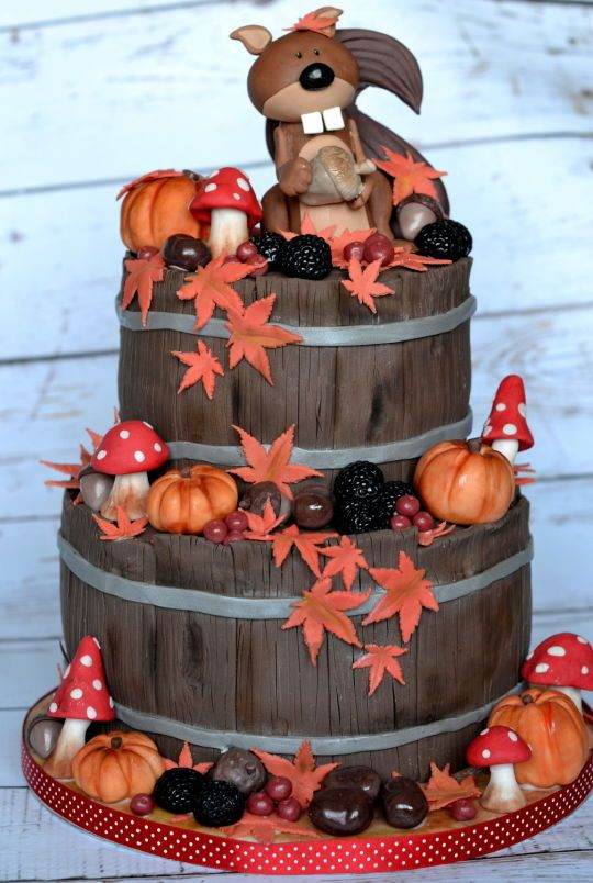 17 Best Ideas About Squirrel Cake On Pinterest Cake