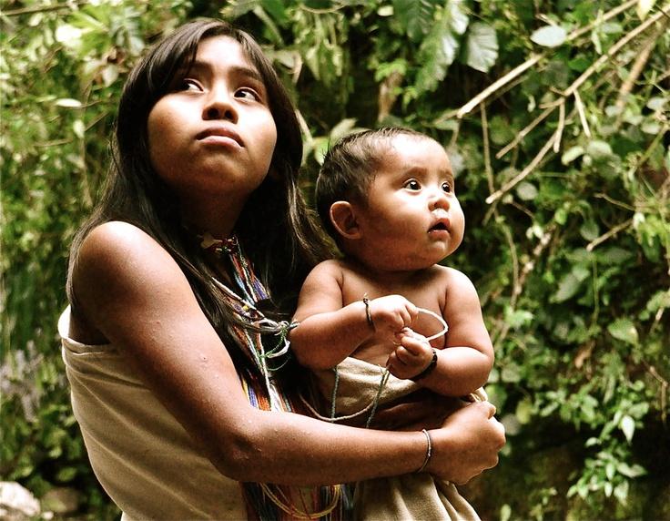 Kogi Sisters, Santa Marta, Colombia