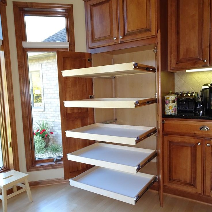 25 Best Ideas About Pull Out Pantry Shelves On Pinterest: Best 25+ Slide Out Shelves Ideas On Pinterest