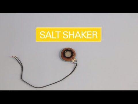 Create your own salt shaker with the DIY Speaker Kit.