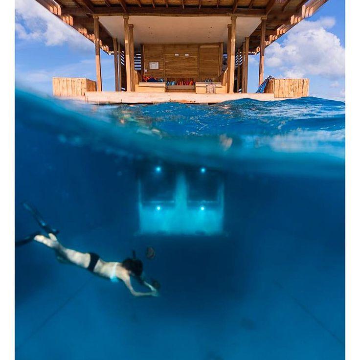 opulentmondeWho wants to spend the night underwater with the fish ? 🐠🐟🐡🐋 . . . . #opulentmonde #underwaterroom #luxuryhotel #hotel #underwater #sea #fish #experience #besthotels