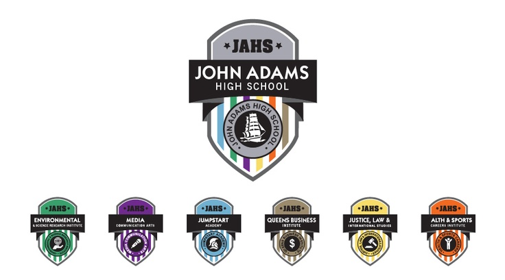 John Adams High School's six specially focused Small Learning Communities.