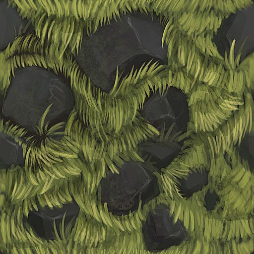 ArtStation - Hand painted texture variety, Arky Fitzwater