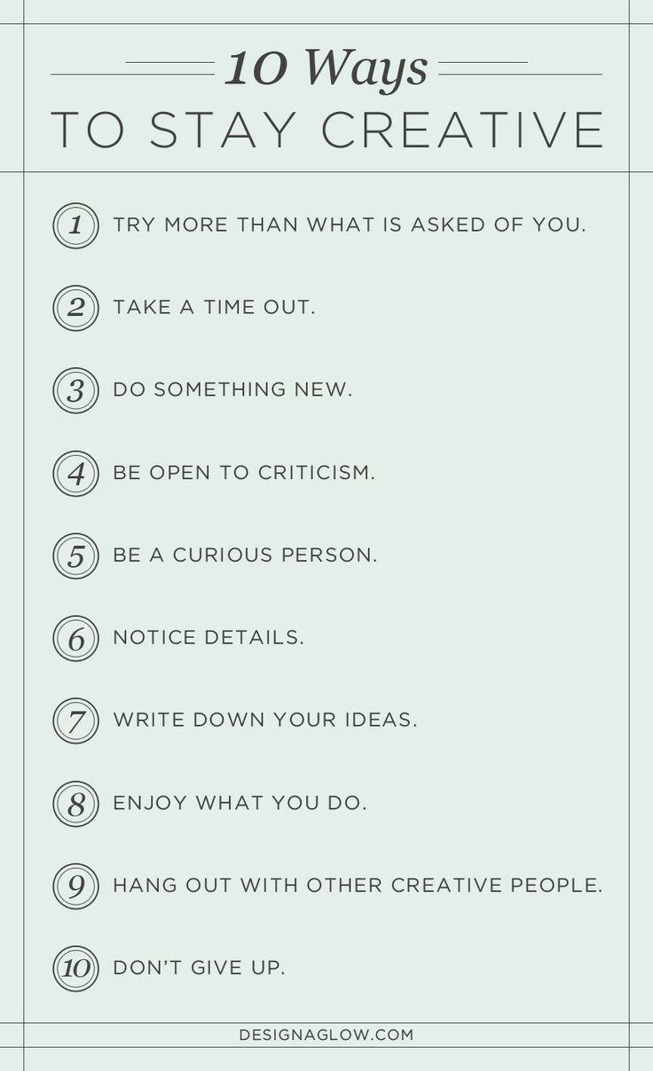 Creativity RULES.