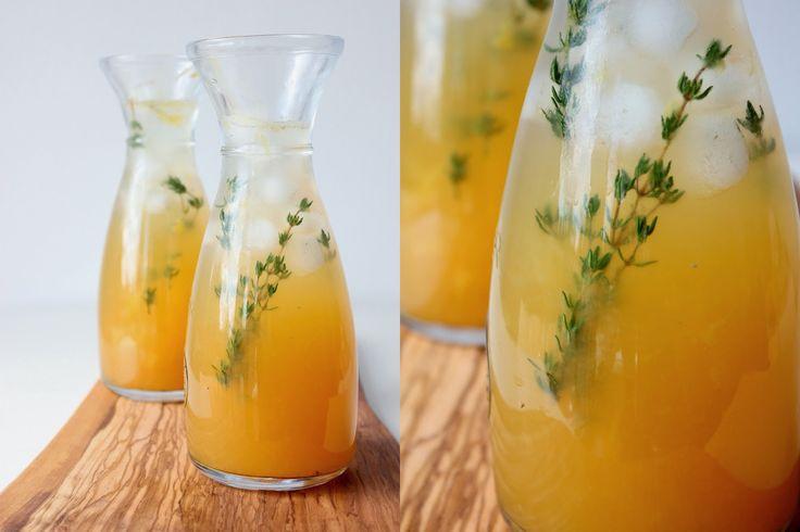 Mikyna v kuchyni: Citrusová limonáda s tymiánem a novým kořením