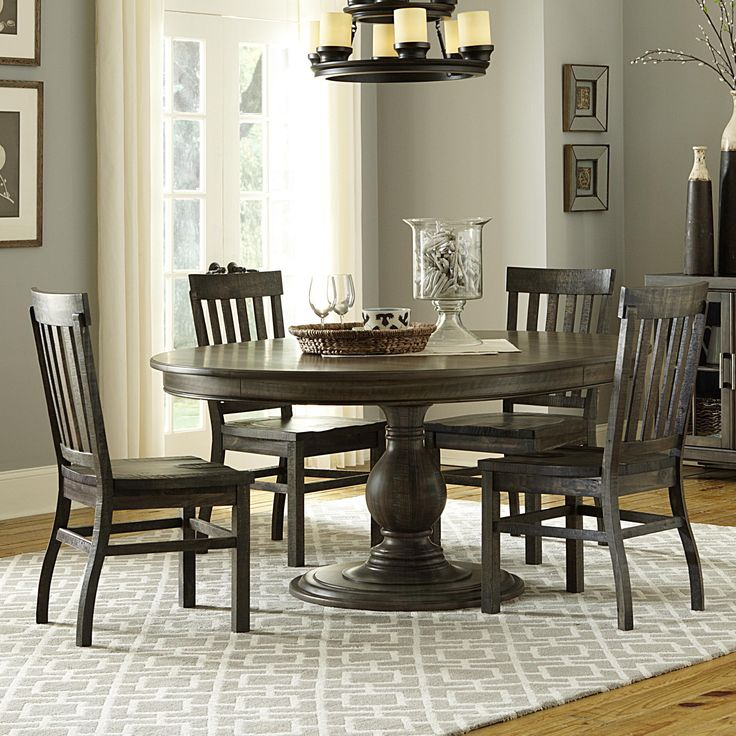 bellamy 5 pc casual dining set by magnussen home round dining tablesdining room - Magnussen Dining Room Furniture