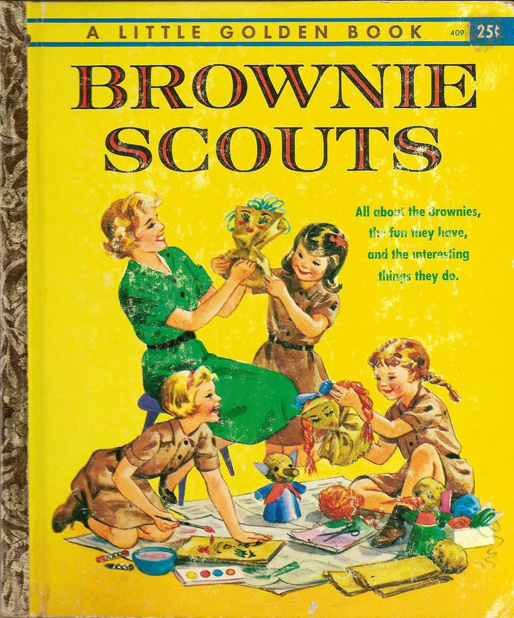 Brownie Scouts (A Little Golden Book) by Lillian Gardner Soskin, illustrated by Louise Rumely. New York: Golden Press, 1961.