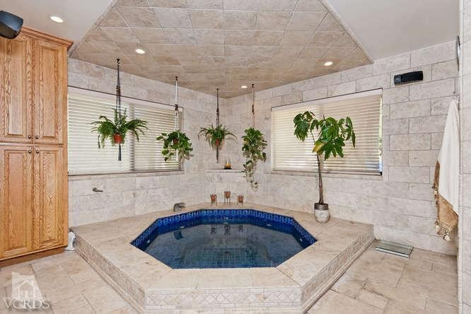 17 best images about for the home on pinterest coral for Indoor bathroom hot tubs