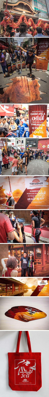 Ano Novo Chinês Taiyang Patrocinadora da festa de Ano Novo Chinês da Liberdade, a Taiyang promoveu várias atividades de interação junto ao público do evento. Criação e produção são da GO! Comunicação.