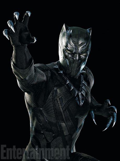 Chadwick Boseman alias Black Panther pour Captain America - Civil War