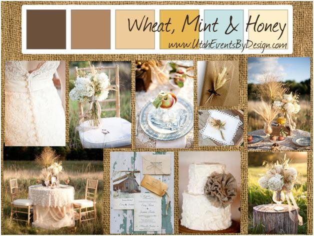Wheat Mint And Honey Wedding Inspiration By Utah Events Design