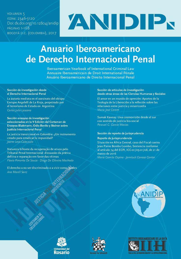 Anuario Iberoamericano de Derecho Internacional Penal Vol. 5